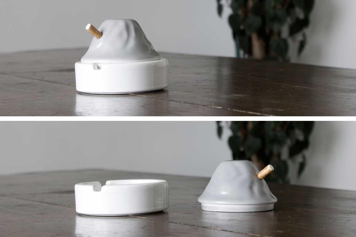 Portacenere di ceramica