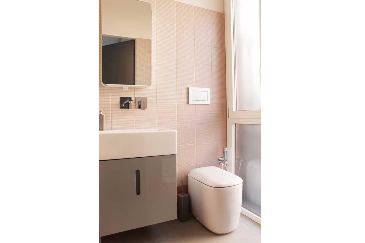 Piastrelle di design in bagno
