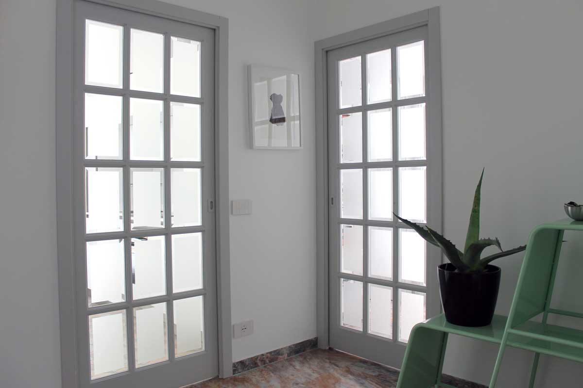 Porte scorrevoli vetrate